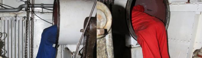 dampfer-welle-kondensatoren
